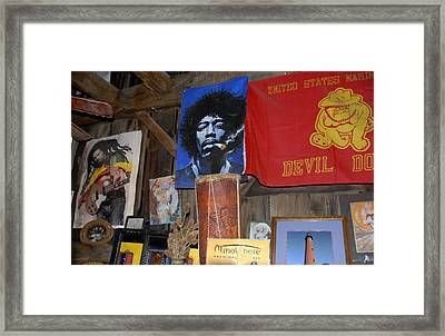 Head Shop Framed Print by David Lee Thompson