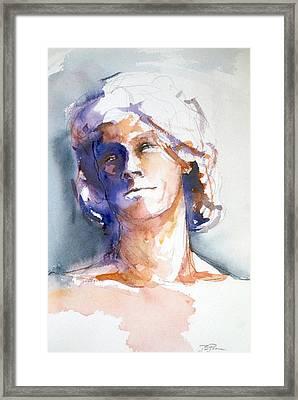 Head Study 1 Framed Print