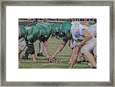 Head To Head Digital Art Framed Print