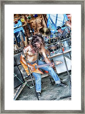 Framed Print featuring the photograph Headbanger by Matthew Ahola