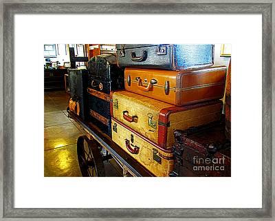 Headed Home Framed Print by Steve C Heckman