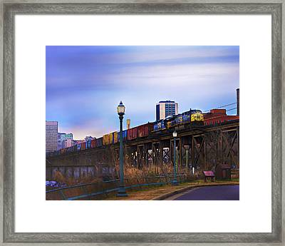 Headed Out Framed Print by Elise Iglio