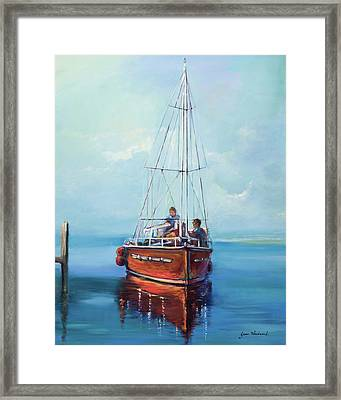 Headed Out Framed Print by Jane Woodward