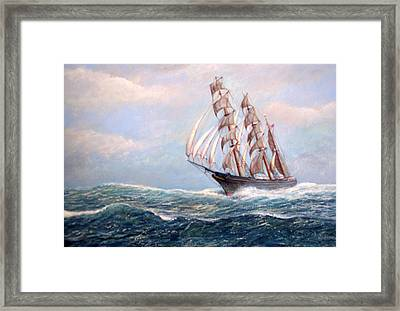 Headin' Home Framed Print by William H RaVell III
