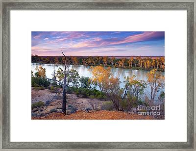 Heading Cliffs Murray River South Australia Framed Print by Bill Robinson