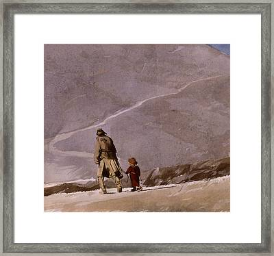 Heading Home Framed Print by Andrew Crane