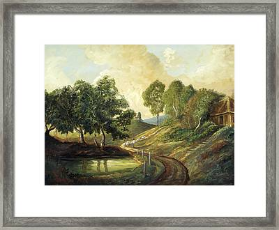 Heading Home Framed Print by Michael Scherer