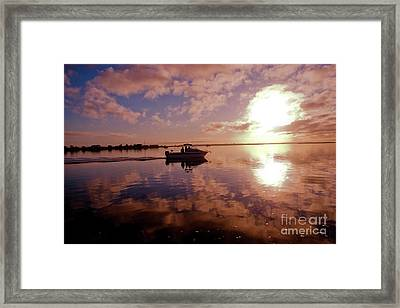 Heading Out Framed Print by James  Dierker