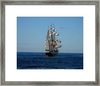 Heading Out To Sea Framed Print