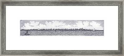 Heading Out To The West Bar Framed Print