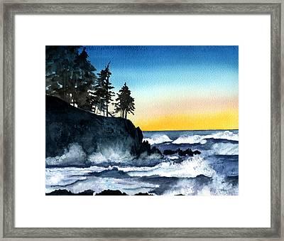 Headland Framed Print