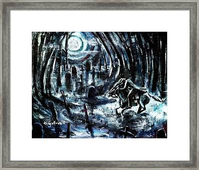 Headless In The Hollow Framed Print