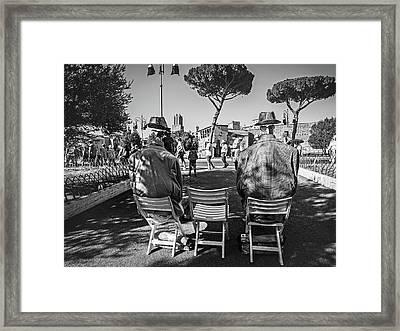 Headless Framed Print by Ute Herzog
