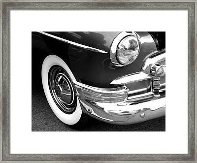 Headlight Framed Print by Audrey Venute
