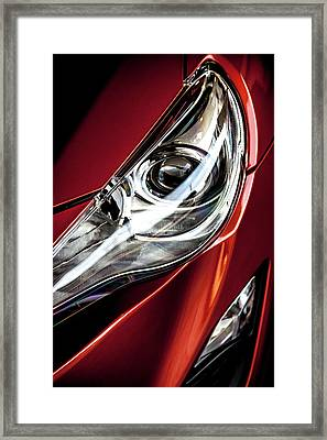 Framed Print featuring the photograph Headlight by Eric Christopher Jackson