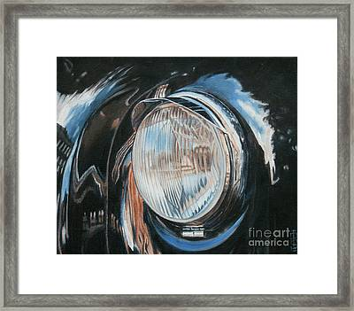 Headlight Study Framed Print by Pauline Sharp