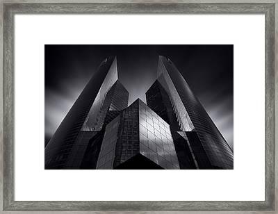 Headquarter Framed Print by Sebastien Del Grosso