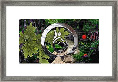 Heal The World Framed Print