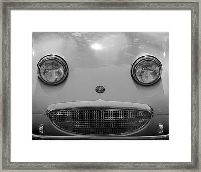Healey Hello Framed Print by Alan Raasch