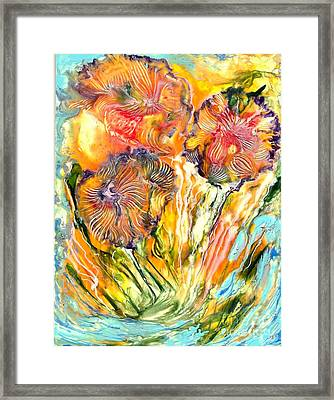 Healing Blossoms For Heather Ward Framed Print by Heather Hennick