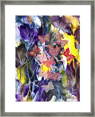 Healing Breath For  Eve Framed Print by Heather Hennick