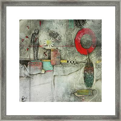 Healing Circle Of Spirit  Framed Print