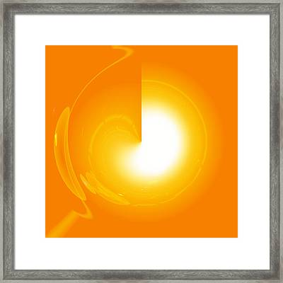 Healing-door No. 02 Framed Print by Ramon Labusch