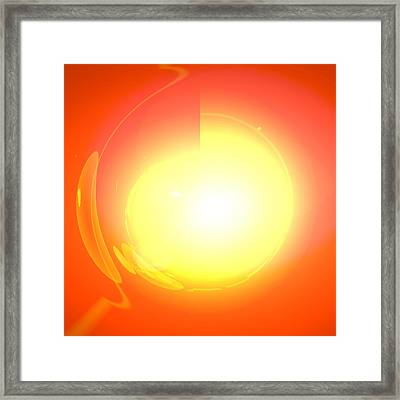 Healing-door No. 03 Framed Print by Ramon Labusch