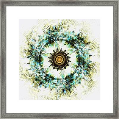 Healing Energy Framed Print