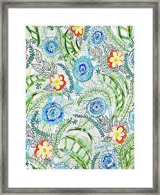 Healing Garden Framed Print
