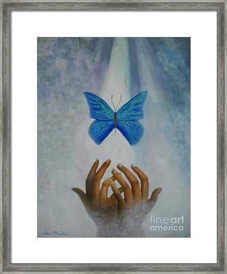 Healing Hands Framed Print by Terri Maddin-Miller