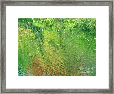 Healing In All Forms Framed Print