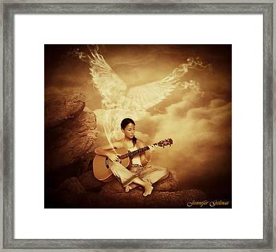Healing Framed Print by Jennifer Gelinas