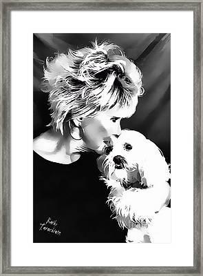 Healing Framed Print by Kathy Tarochione
