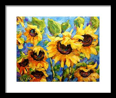 Floral Shower Curtain Paintings Framed Prints