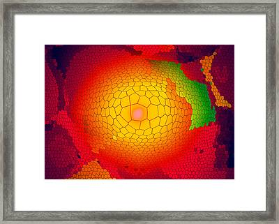 Healing-light Framed Print by Ramon Labusch