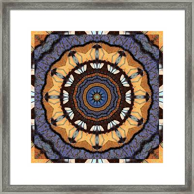 Healing Mandala 16 Framed Print by Bell And Todd