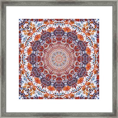 Healing Mandala 2 Framed Print
