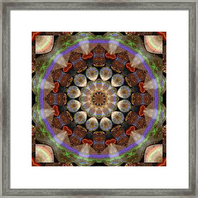 Healing Mandala 30 Framed Print by Bell And Todd