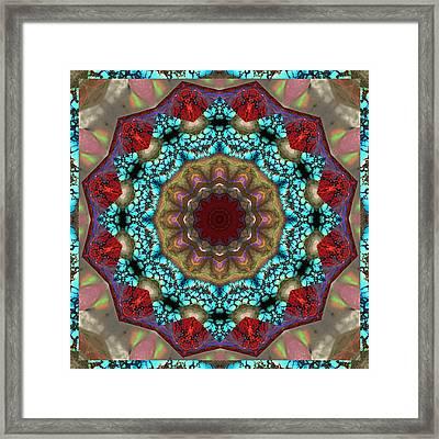 Healing Mandala 35 Framed Print by Bell And Todd