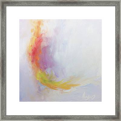 Healing Framed Print by Mike Moyers