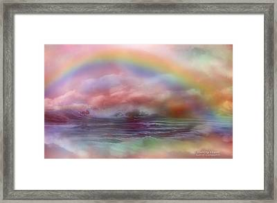 Healing Ocean Framed Print