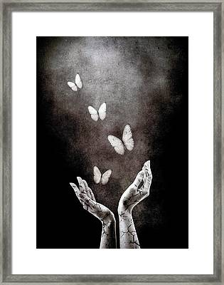 Healing Framed Print by Jacky Gerritsen