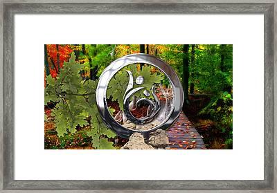 Healing Power Framed Print