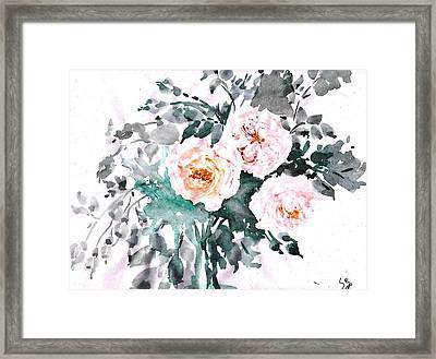 Healing Roses -20 Framed Print by Sweeping Girl