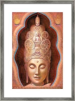Healing Tara Framed Print