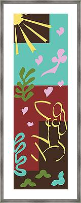 Health - Celebrate Life 3 Framed Print