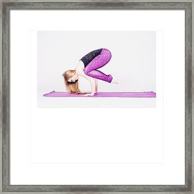 #health #fitness #fit #tagsforlikes Framed Print