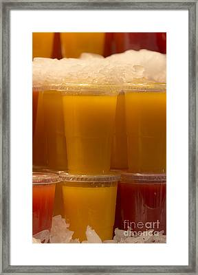 Healthy Drink Framed Print by Svetlana Sewell
