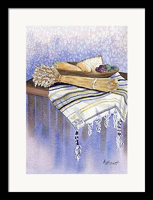 Prayer Shawl Framed Prints